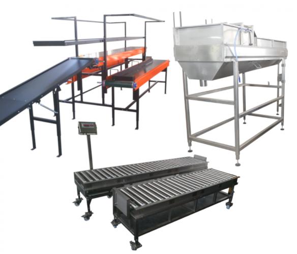 Wyposażenie linii produkcyjnych