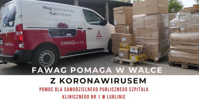 Lubelskie Fabryki Wag FAWAG S.A. w walce z koronawirusem
