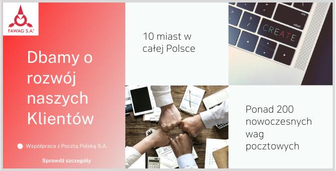 Poczta Polska S.A.  stałym Partnerem Biznesowym Fawag S.A.